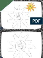 Super Cuaderno Grafomotor Para Practicar El Trazo y Colorear