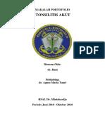 makalah portofolio Tonsilitis Akut-Rani.docx