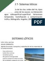 Sistemas lóticos