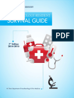 Anesthesiology Resident Survival Guide 2014-2015