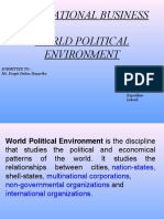 World Political Environment