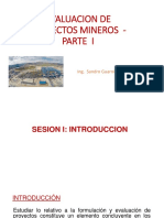 Curso Evaluación de Proyectos Mineros UNI  Sesion I.pdf