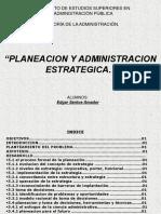 Planeacion y Administtracion Estrategica