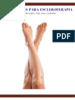 _Orientações para escleroterapia - Dr.  Alexandre Amato