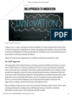A Platform-Thinking Approach to Innovation