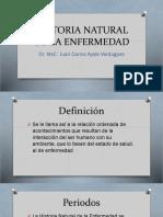 La Historia Natural de La Enfermedad 2018