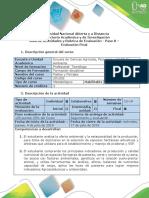 Guía de Actividades y Rubrica de Evaluación - Paso 8 - Evaluación Final