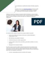 La misión de una empresa es una declaración o manifestación duradera del objeto.docx