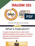Dilg Federalism 101 (Advance)