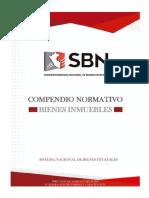 COMPENDIO DE NORMAS DE BIENES INMUEBLES