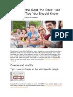 Autocad tips