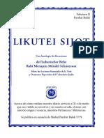 Likutei Sijot II - Balak 2019