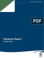 Handover Report