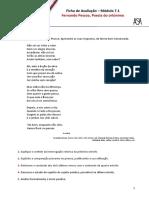Ficha de Avaliação - Fernando Pessoa - Poesia do ortónimo.doc
