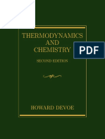 Thermodynamics by Howard Devoe