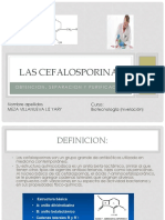 cefalosporinas (biotecnologia )