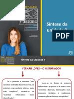 Síntese de Fernão Lopes
