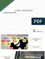 SEMANA 1 - 2_Tipología Textual y Niveles de Comprensión