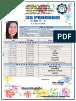 Class Program New