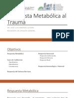respuesta metabaolica al trauma