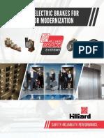 Hilliard Brakes for Elevator Modernization 001