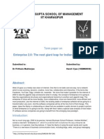 Term Paper on Enterprise 2.0