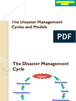 3 the Disaster Management Cycle and Models 1