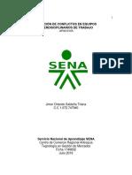 AP08-EV05 Solución de Conflictos en Equipos Interdisciplinarios de Trabajo