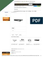 FICHA TECNICA NVR Samsung SRN-873S-1TB