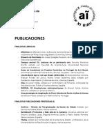Finalistas Publicaciones Trabajos Academicos y Textos Investigacion