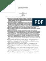 Peraturan Perusahaan KLINIK RLA