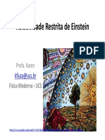 AULA1 Relatividade Restrita de Einstein