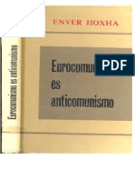 Enver Hoxha - Eurocomunismo Es Anticomunismo