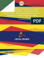 Accreditation of Barangay Based NGOs