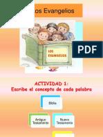 LOS CUATRO EVANGELIOS 2do Sec.pptx