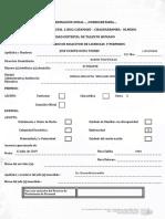 Solicitud de Permisos y Licencias