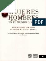 Mujeres y hombres en el mundo global. Antropología feminista en América Latina y España - Carmen Gregorio Gil y Martha Patricia Castañeda (coords.)