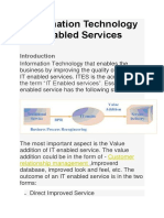 Information Technology enabled Services.docx