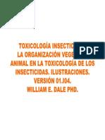 Toxicología de Insectos