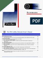 1996 Cadillac Eldorado Owners
