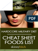 Hardcore Military Foods Lispppp
