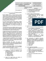 Evaluación Parcial 2P 6to2019