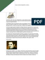 Autores Guatemaltecos de La Época Colonial