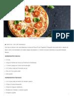 Pizza Fit de Frigideira_ Confira a Receita - Ideias Food