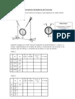 Laboratorio Sumatoria de Fuerzas 2.8
