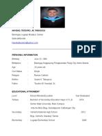 Resume of mine