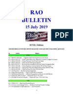 Bulletin 190715 (HTML Edition)