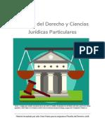 Unidad 2. Recurso 2. Lectura Filosofía Del Derecho y Ciencias Jurídicas Particulares