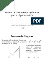 conclusiones trigonometria