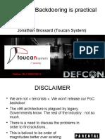 Moabi - Hardware Backdooring is Practical - DEFCON 2012